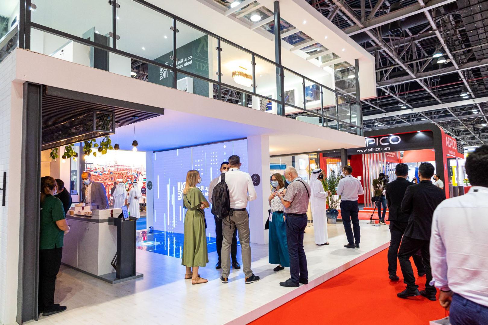 حديد الإمارات تختتم مشاركتها في معرض الخمسة الكبار
