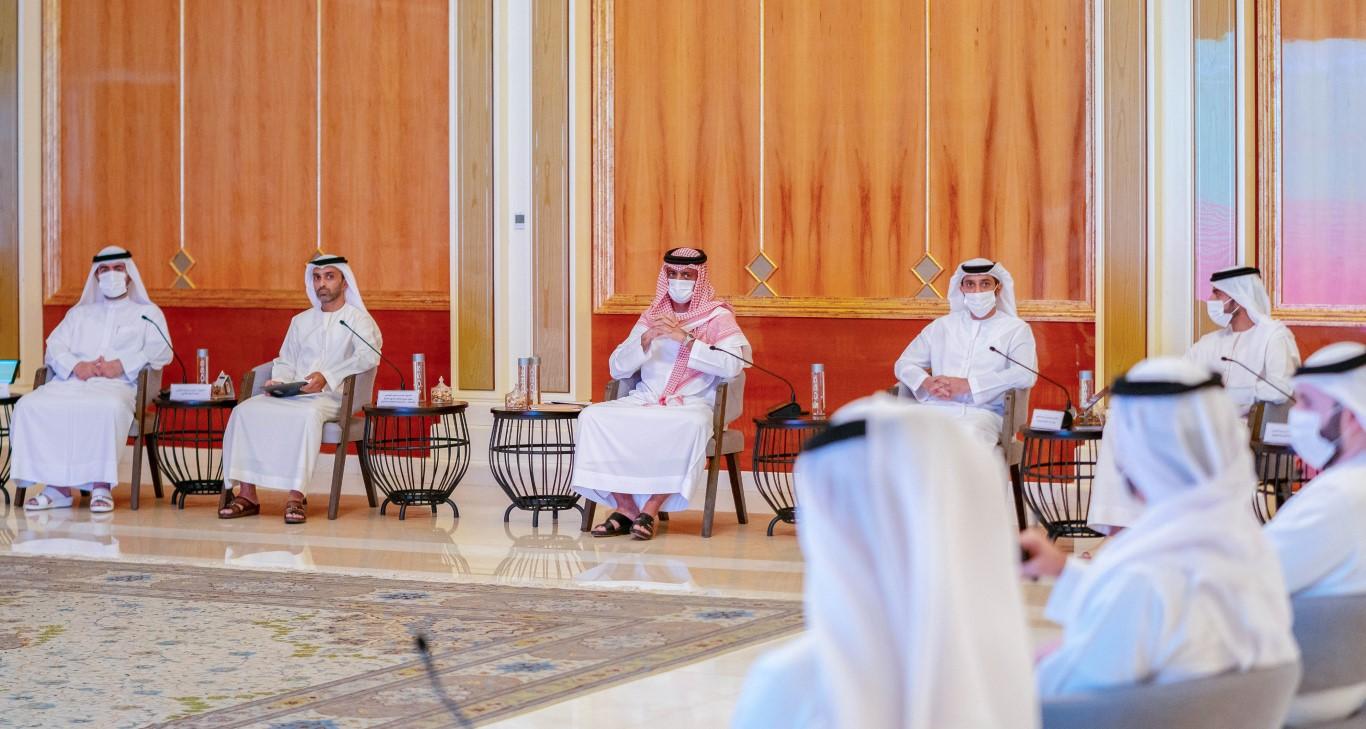عمار النعيمي يترأس الجلسة الثامنة للمجلس التنفيذي للعام 2021