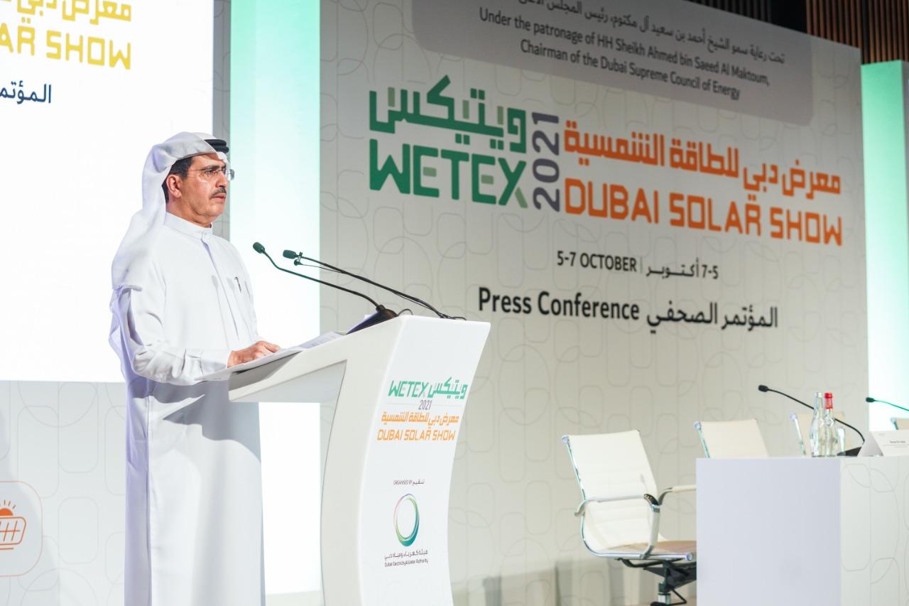 """1200 شركة من 55 دولة تشارك في """"ويتيكس ودبي للطاقة الشمسية"""""""