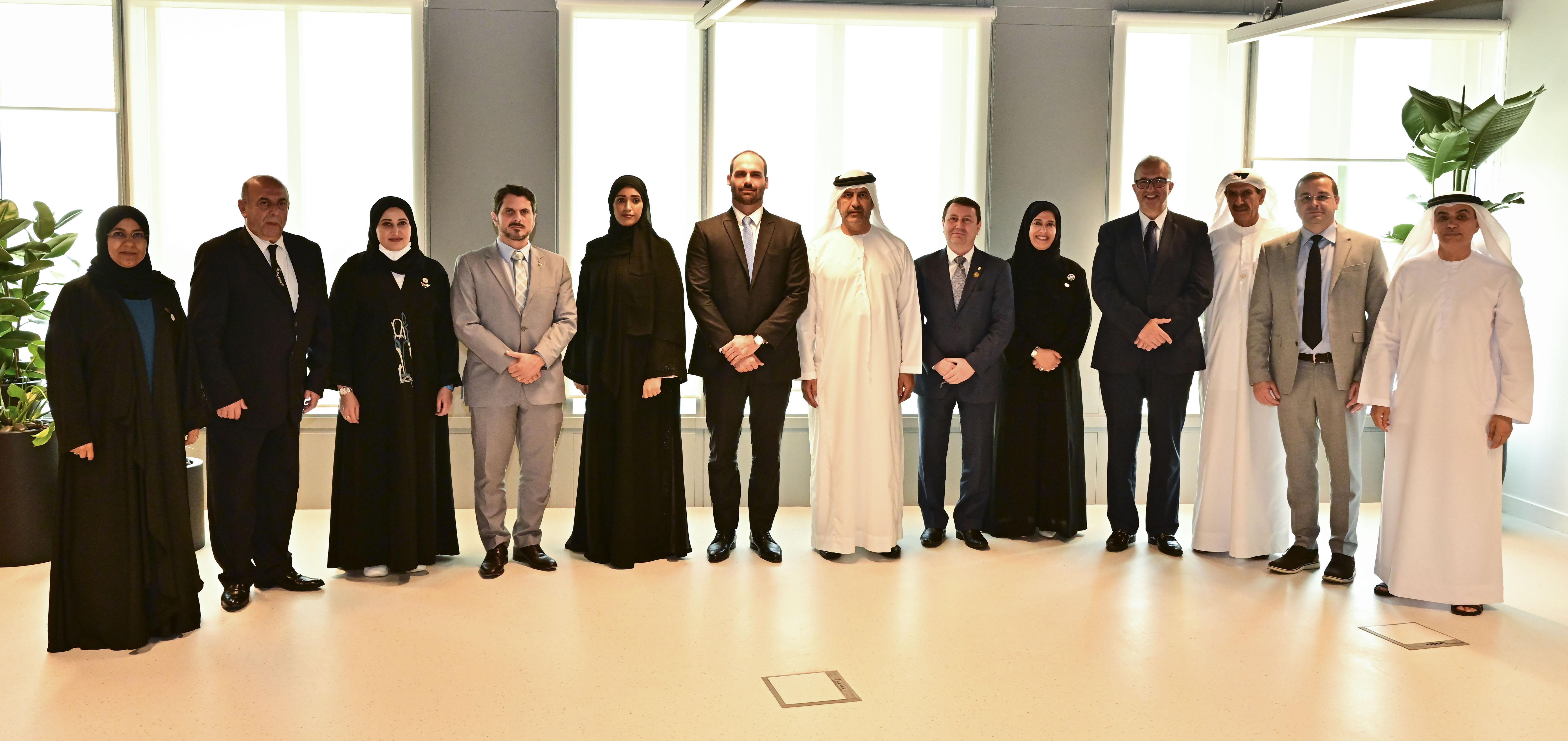لجنة الصداقة البرلمانية الإماراتية البرازيلية تبحث سبل تعزيز التعاون