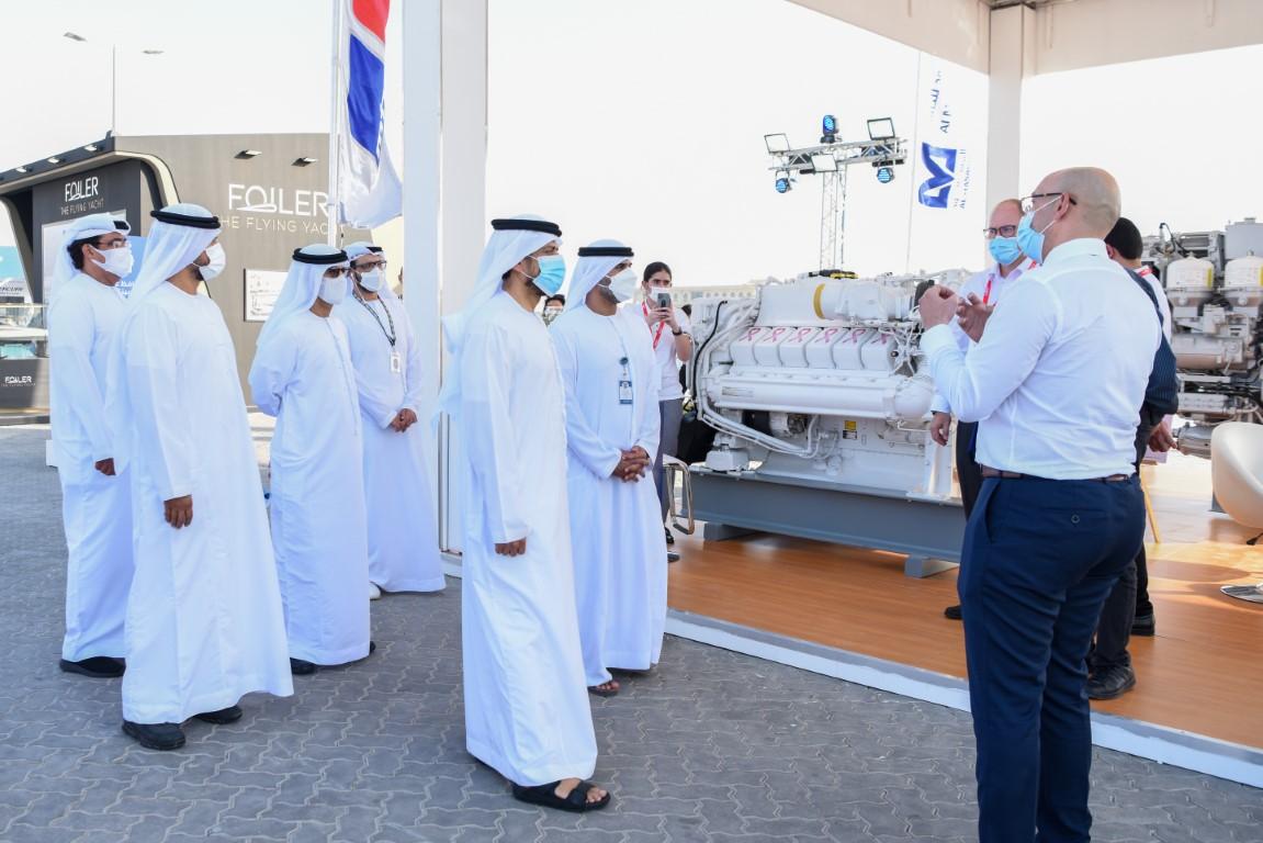 انطلاق فعاليات معرض أبوظبي الدولي للقوارب