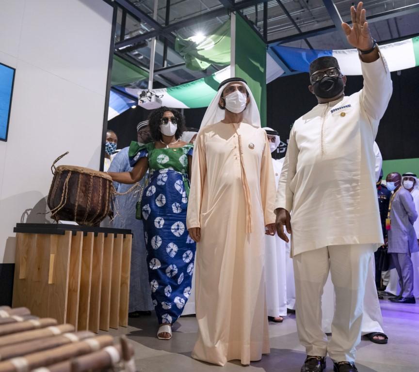 محمد بن راشد يلتقي رئيسي السنغال وسيراليون