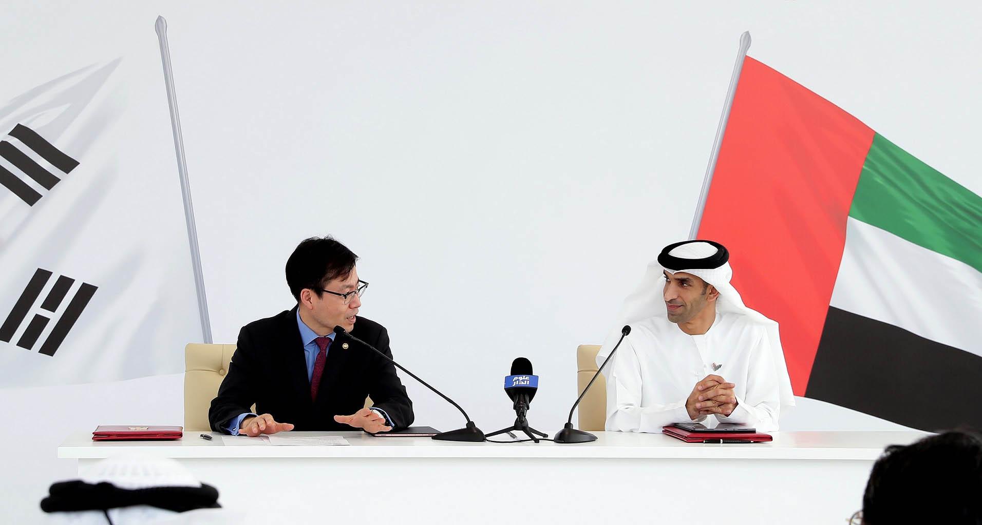 الإمارات و كوريا الجنوبية تعلنان بيان نوايا مشتركا لبدء محادثات اتفاقية شراكة اقتصادية شاملة