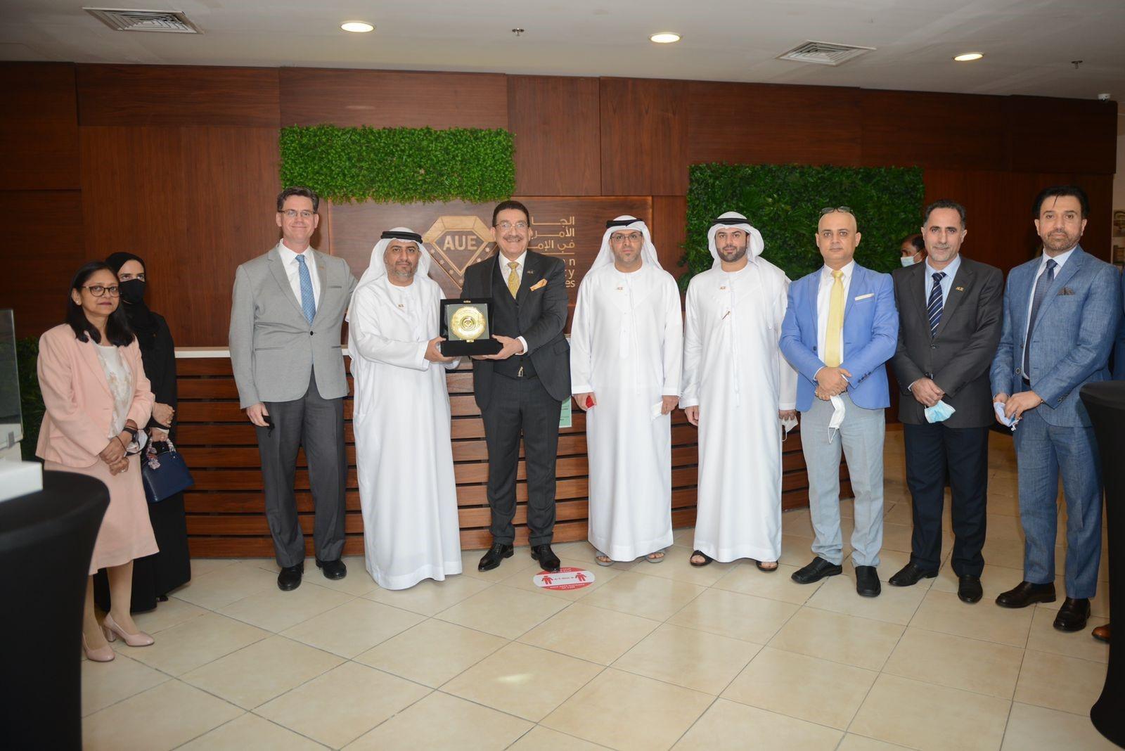 تعاون بين الجامعة الأمريكية بالإمارات ومحاكم مركز دبي المالي العالمي