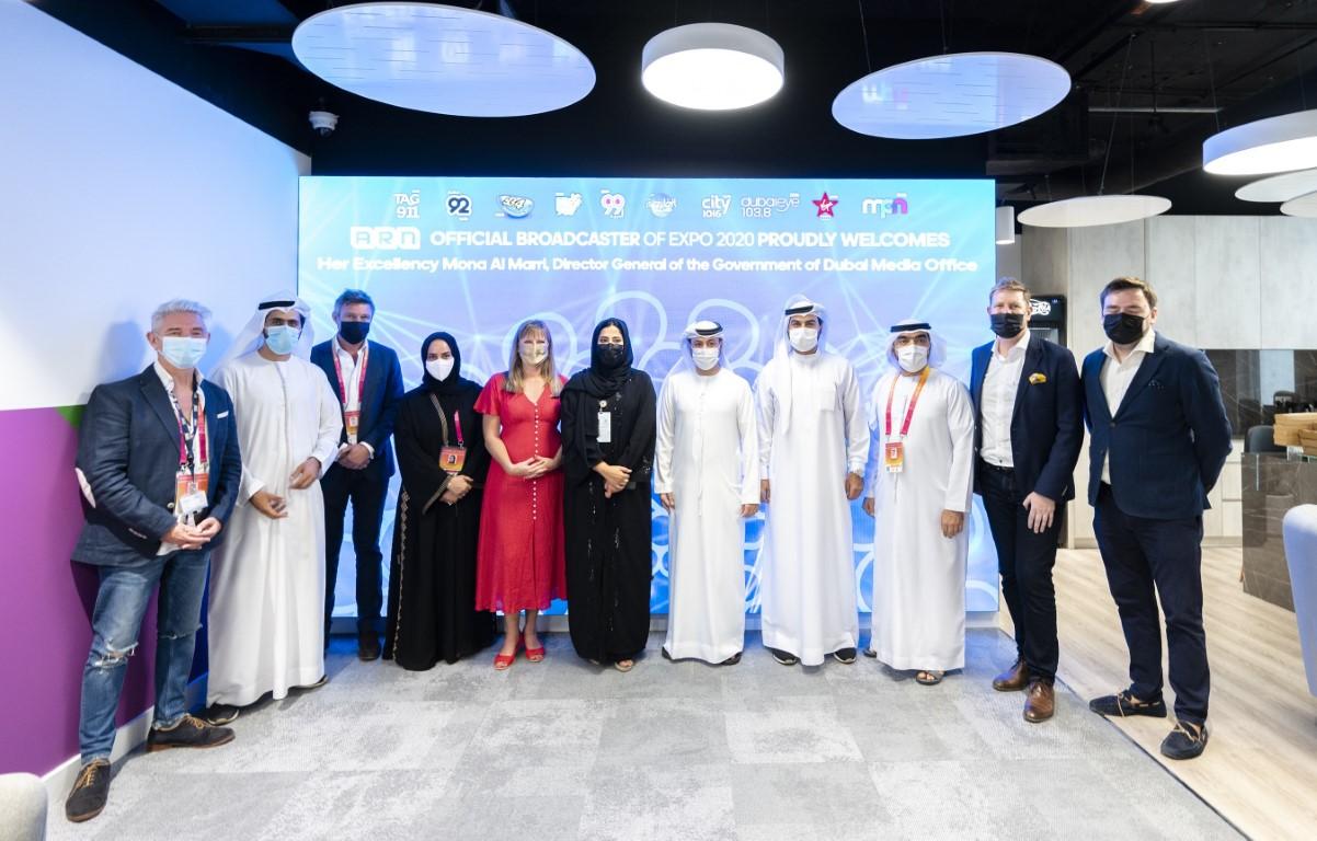 """منى المرّي: """"الإعلام شريك في نقل رسالة إكسبو 2020 دبي وأثره الإيجابي كأهم حدث ثقافي وحضاري على مستوى العالم"""""""