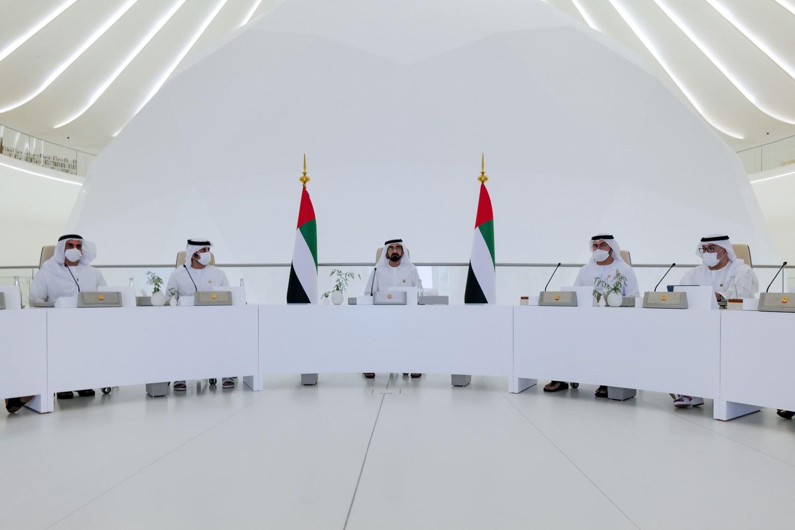 محمد بن راشد يترأس اجتماع مجلس الوزراء ويعتمد الميزانية العامة للاتحاد للأعوام 2022-2026 بإجمالي 290 مليار درهم