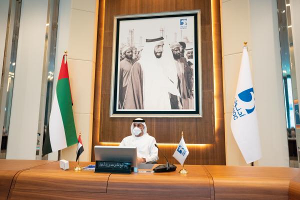 خالد بن محمد بن زايد يترأس اجتماع اللجنة التنفيذية لمجلس إدارة